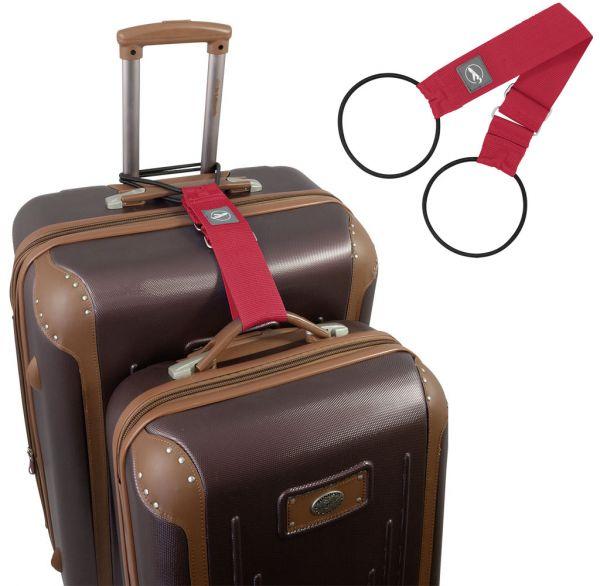 Trageschlaufe für Koffer und Taschen rot