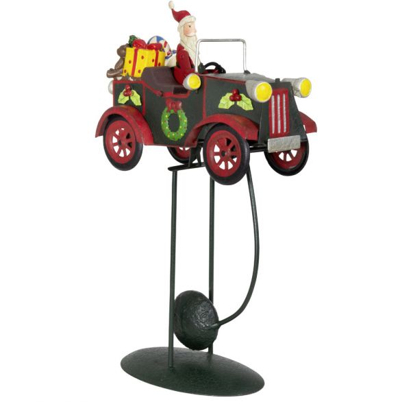 Tischdeko Balance Pendel Auto 32cm