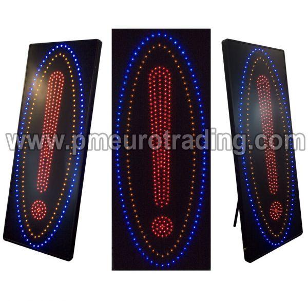 LED Schild Ausrufezeichen