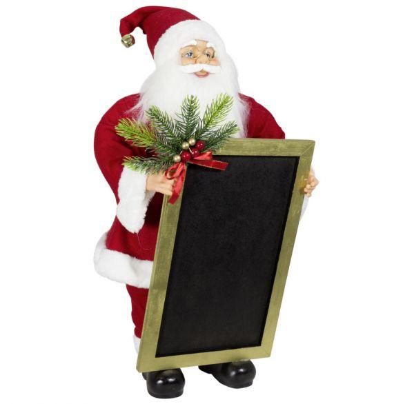 Santa mit Kreidetafel 60-120cm