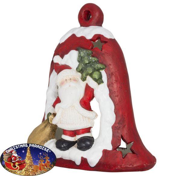 Outdoor Weihnachtsdeko Weihnachtsglocke 39cm