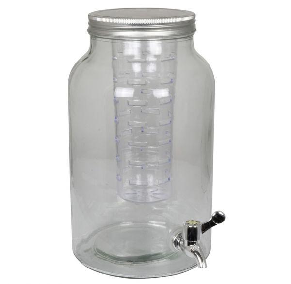 Getränkespender 4 Liter mit Zapfhahn