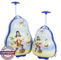 Polycarbonat Kinderkofferset 2tlg Pirat