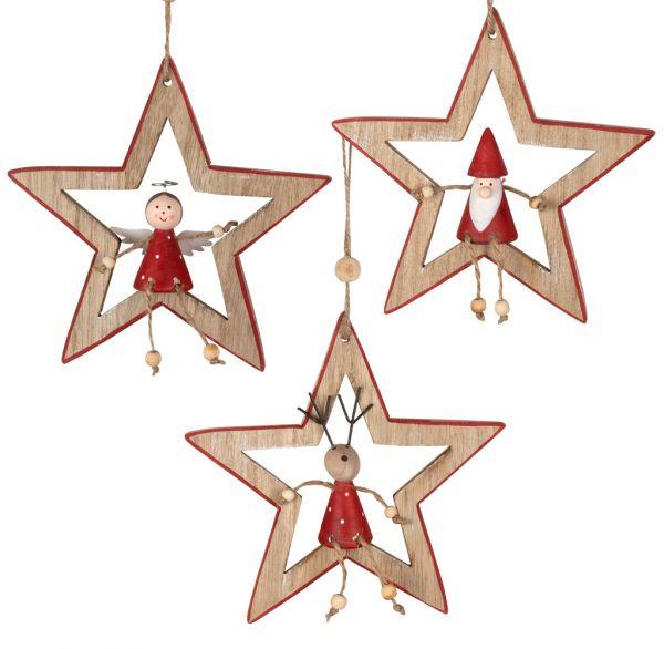 Baumschmuck Sterne 15cm