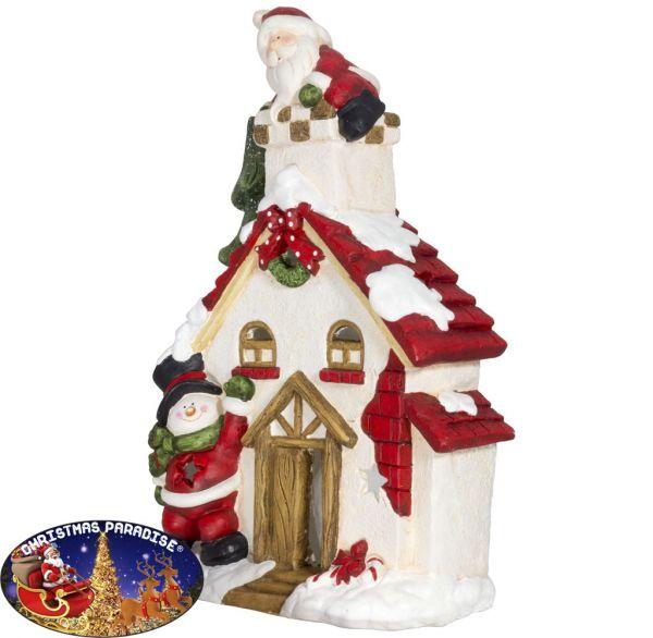 Outdoor Weihnachtsdeko Haus 57cm